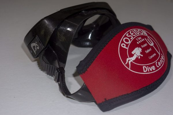 8 Mask Band red (Mask not included)