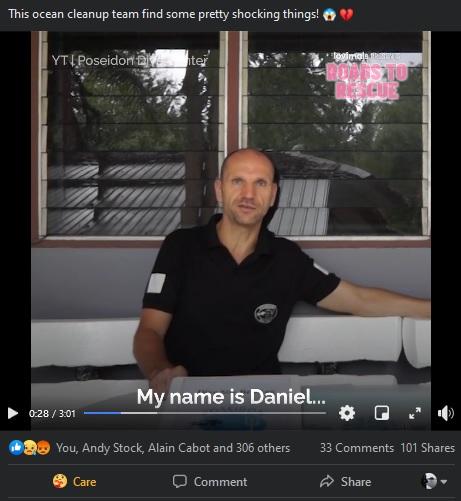 Interview Daniel Sasse Ozean Reinigungs-Team findet schockierende Dinge