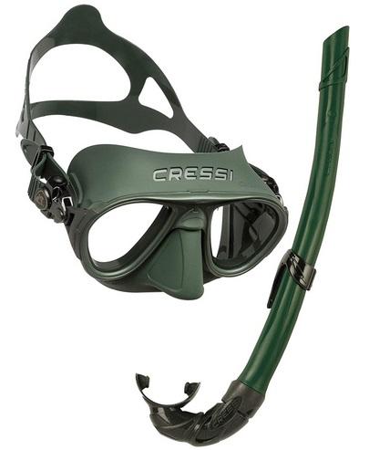 Cressi Calibro & Corsica Masken und Schnorchel set