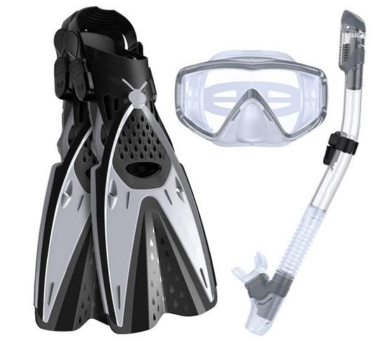Ertong Mask Snorkel and Fin Set