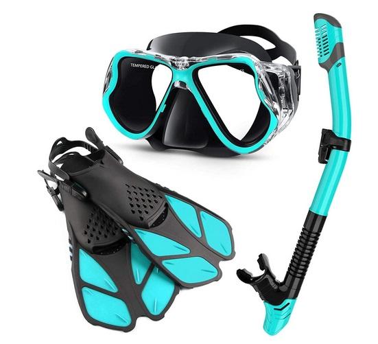 Zenoplige Mask Fins Snorkel Set