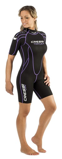Cressi Tortuga Lady Wetsuit 2.5 mm Shorty