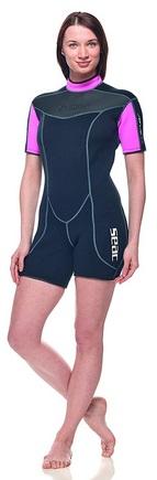 SEAC Women Shorty Wetsuit Sense 2.5mm