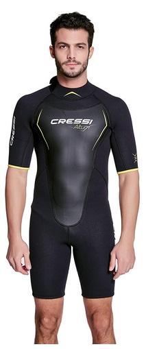Cressi Altum Wetsuit Man 3mm - Shorty oder Einteiliger Neoprenanzug für Herren