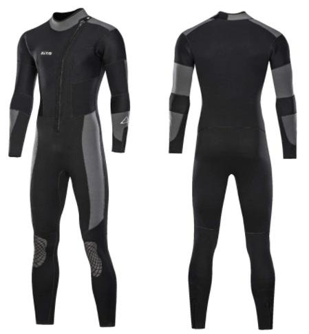 Neoprene wetsuit for men