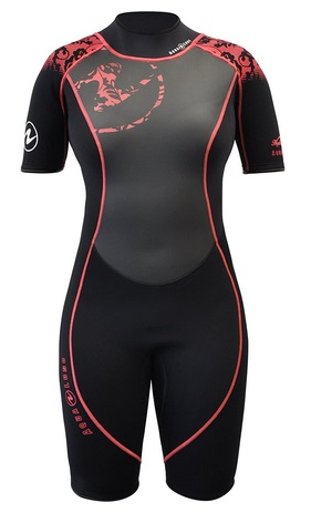 Aqua-Lung-Women-Shorty-Wetsuit-HydroFlex
