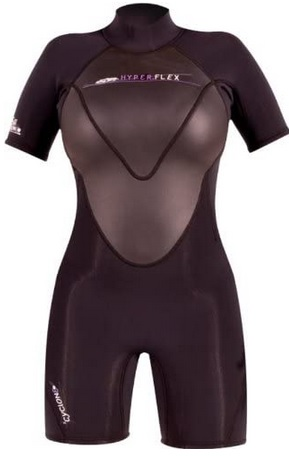 Hyperflex Women shorty wetsuit Cyclone2 2.5mm