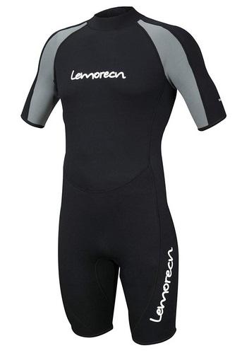 Lemorecn Wetsuits Neoprene Diving Suit 3mm Shorty