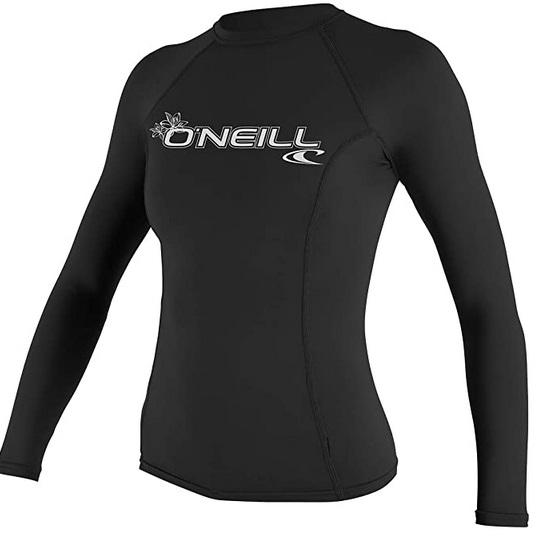 O'Neill Women's Long Sleeve Rash Guard