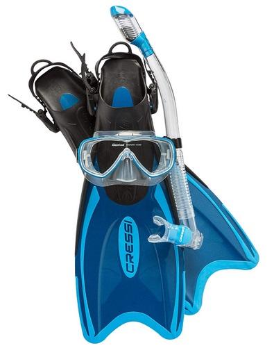 PALAU LAF Mask Snorkel and Fin Set