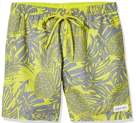 Swim Trunks Men Calvin Klein