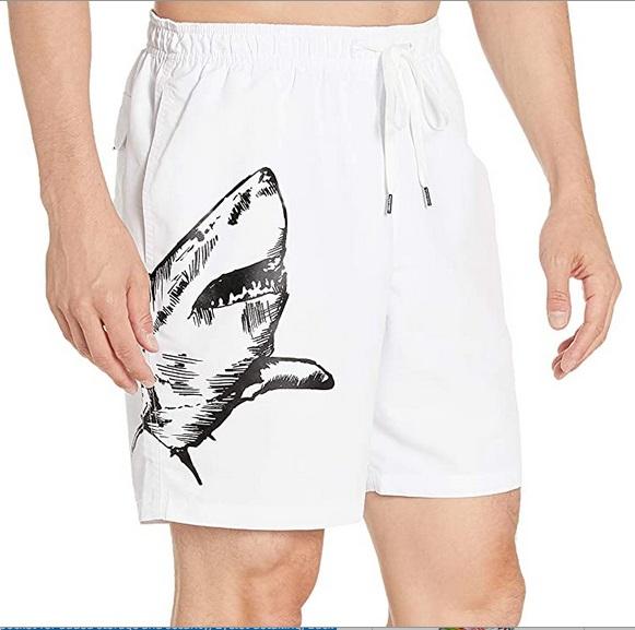 Swim Trunks Men Calvin Klein Shark