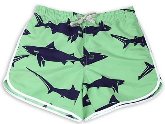 Women-Beach-shorts-shark