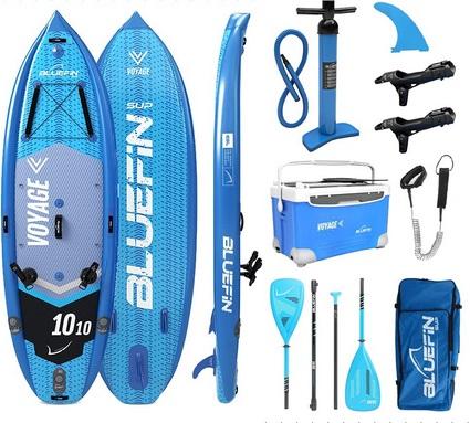 Bluefin SUP Voyage 10-10 Paket mit Kühlbox