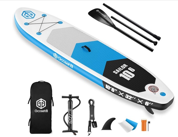 Goosehill iSUP aufblasbares Stand Up Paddle Board