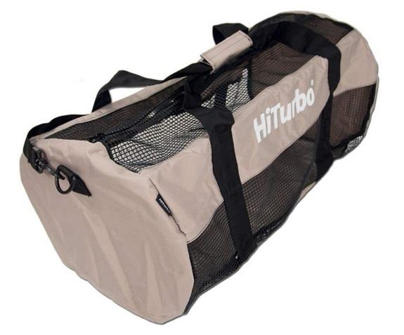 Hiturbo Netztasche Mesh Duffle Bag