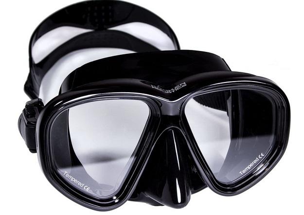 Kraken Aquatics 2 Lens Scuba Diving Mask