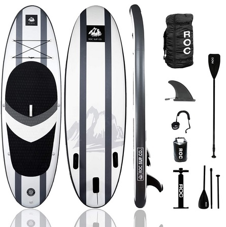 Roc iSUP Paddle Board with Premium sup Accessories
