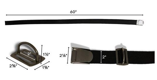Weightbelt length Bleigurt Länge