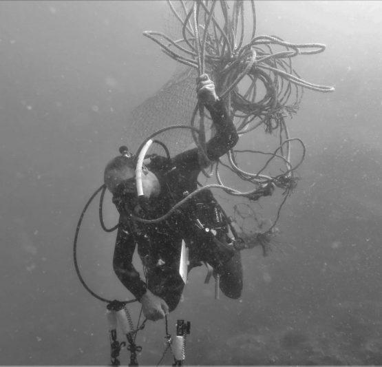 Underwater Cleanup Daniel Sasse Unterwasserfotograf Daniel Sasse