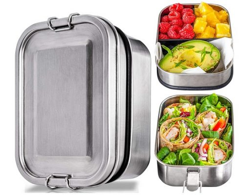 Kitzini Stainless Steel Bento Box Set