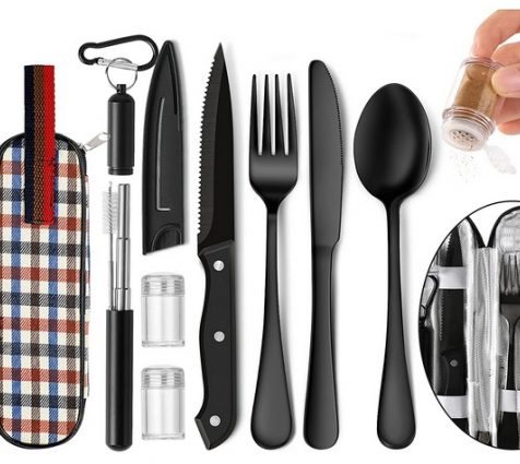 Cutlery Set Reusable Stainless Steel