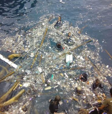 Ocean Surface Cleanup Marine Conservation Project single-use plastic